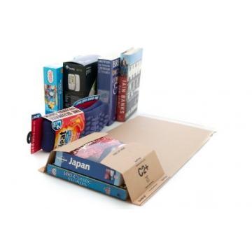 C3 Book Wrap (Bukwrap) Mailer Postal Boxes 311x240x50mm x 25 Units