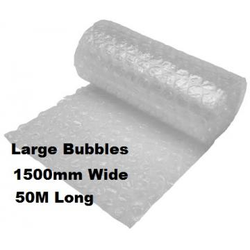 Bubble Wrap 1500mm x 50M LARGE Bubbles