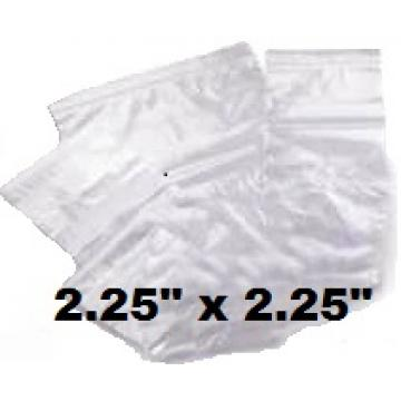 "1000 x Size GL1 Grip Seal Re-Sealable Polythene Bags 2.25"" x 2.25"" (PL01)"