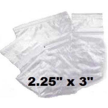 "1000 x Size GL2 Grip Seal Re-Sealable Polythene Bags 2.25"" x 3"" (PL02)"