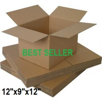 "Single Wall Small Cardboard Boxes 12""x 9""x 12"" Inch - 50 Boxes"