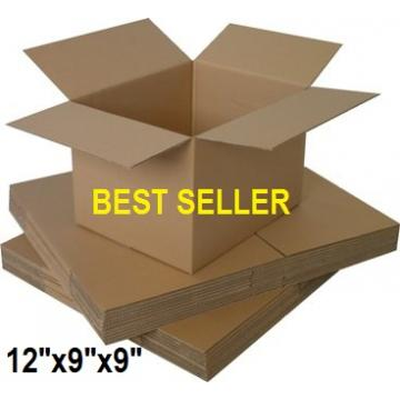 "Single Wall Small Cardboard Boxes 12""x 9""x 9"" Inch - 50 Boxes"