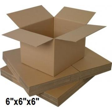 "Single Wall Small Cardboard Boxes 6""x 6""x 6 inch - 50 Boxes"