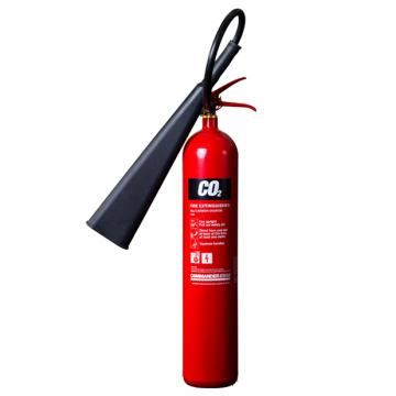 1 x 5kg CO2 Carbon Dioxide Fire Extinguisher With Bracket