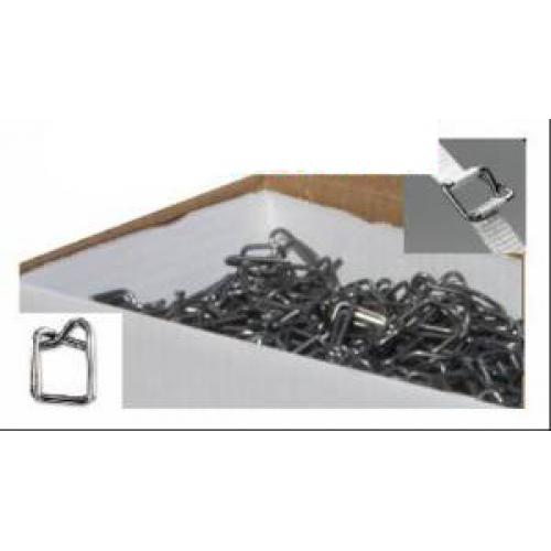 1000 Metal Buckles For 12mm Hand Pallet Strapping