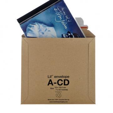 25 x LIL Rigid Cardboard Envelopes 'CD' Size 180mm x 164mm