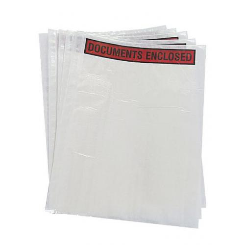 Printed or Plain - 500 x A4  Document Enclosed Wallets 230mm x 330mm