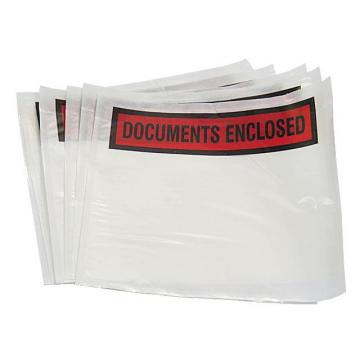 Printed or Plain  -1000 x A7 Document Enclosed Wallets 95mm x 125mm