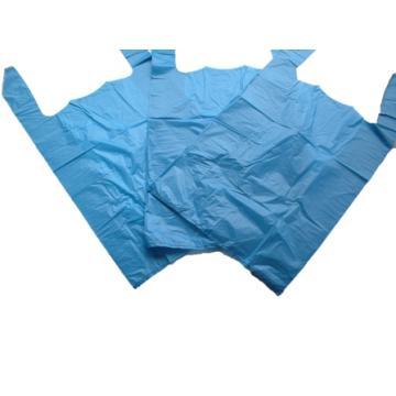 """1000 x Blue Plastic Vest Carrier Bags 11x17x21"""""""