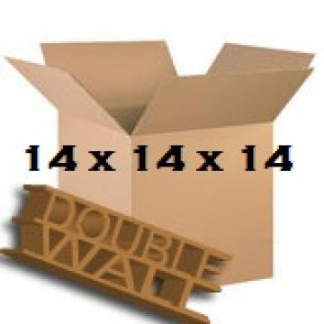 "Double Wall Storage Packing Boxes 14""x 14""x 14"" Inch - 50 Boxes"