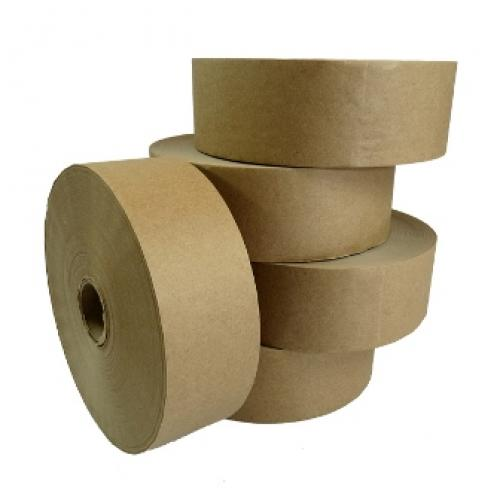 Plain Gummed Paper Water Activated Tape 48mm x 200M x 12 Rolls (Machine Required)