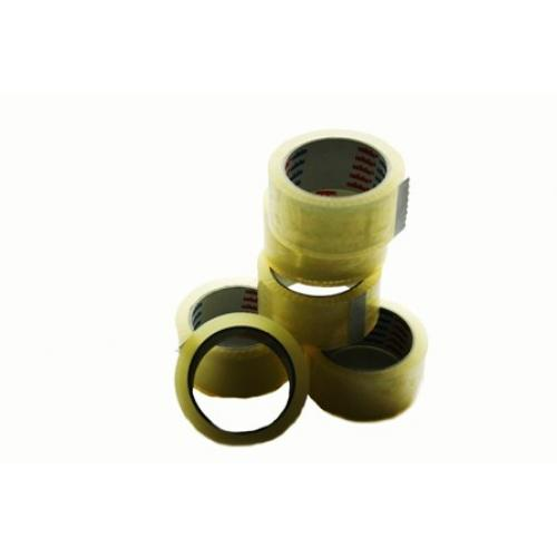 Cellofix Low Noise CLEAR Packing Tape 48mm x 66m x 36 Roll Box