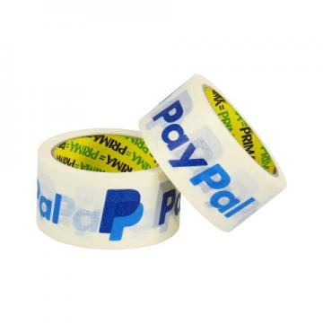 "6 x Rolls Of PayPal Recyclable 2"" White Kraft Paper Tape 50mm x 25M"