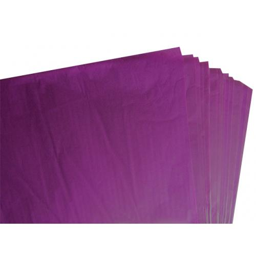 500 Sheets of Purple Acid Free Tissue Paper 500mm x 750mm ,18gsm