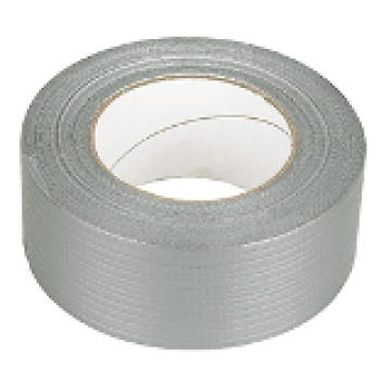 6 x Rolls of Silver Duct / Cloth / Gaffa Tape 50mm x 50M