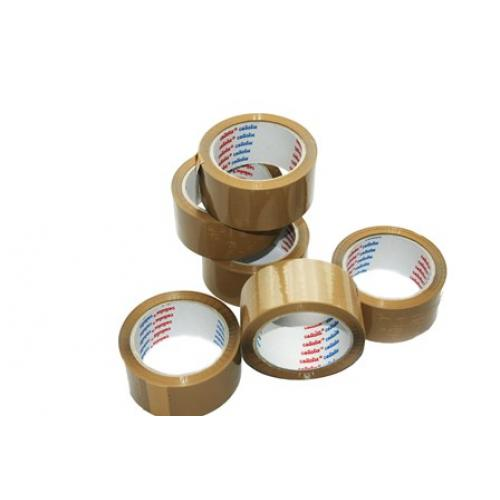 Cellofix Low Noise Brown Packing Tape 48mm x 66m x 36 Roll Box
