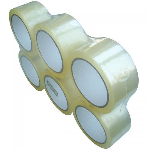 Standard CLEAR Packing Tape 48mm x 66m x 36 Roll Box