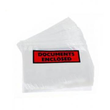 Printed or Plain - 1000 x 'DL' Size Document Enclosed Wallets 110mm x 230mm