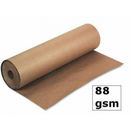 750mm x 225M Strong Brown Kraft Wrapping Paper Roll