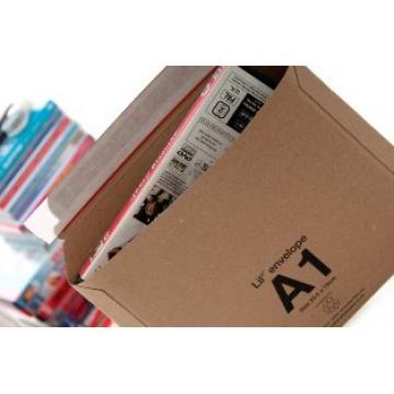 50 x LIL Rigid Cardboard Envelopes 'A1' Size 235mm x 180mm