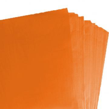 500 Sheets of Orange Acid Free Tissue Paper 500mm x 750mm ,18gsm